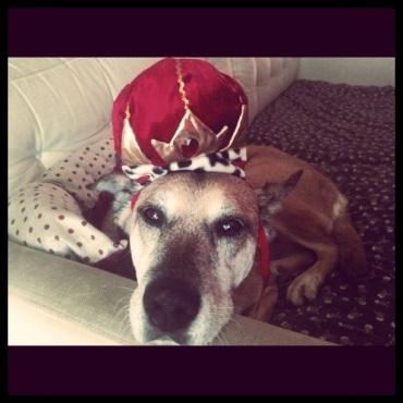 Inez on Her Throne