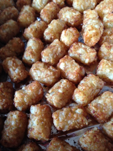 Nothing fancy here, just a bag-o-tots
